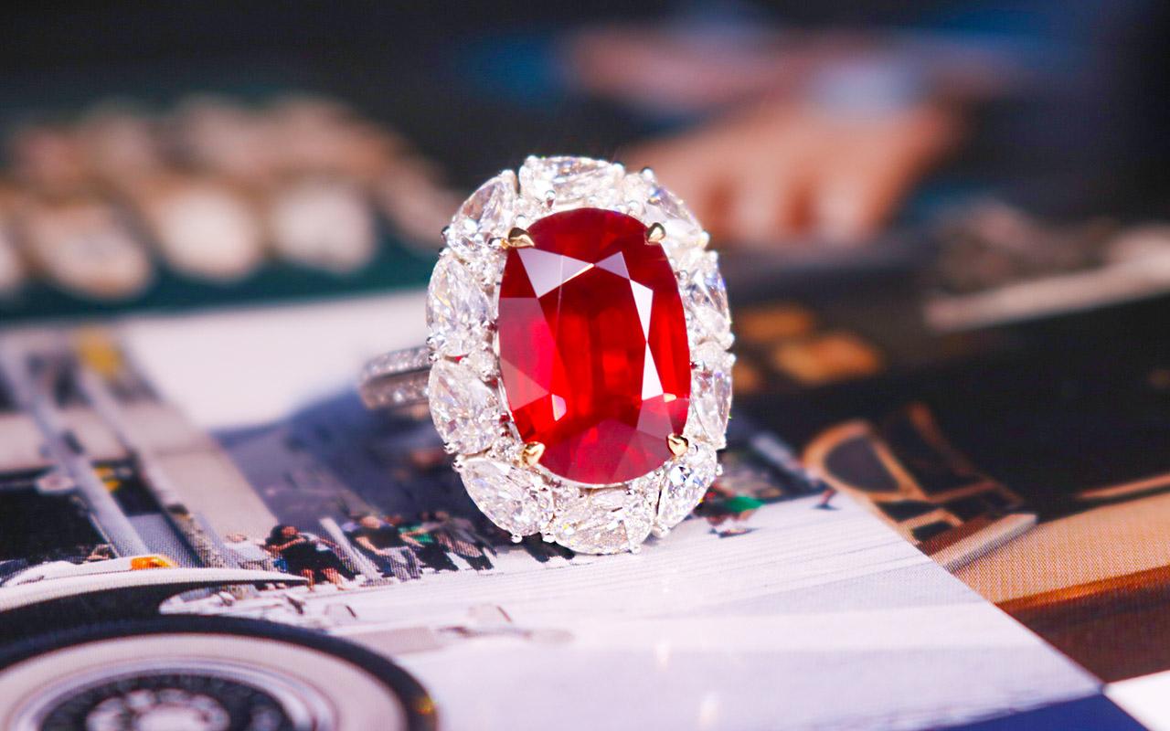 按等级划分来看不同级别的红宝石市场价值